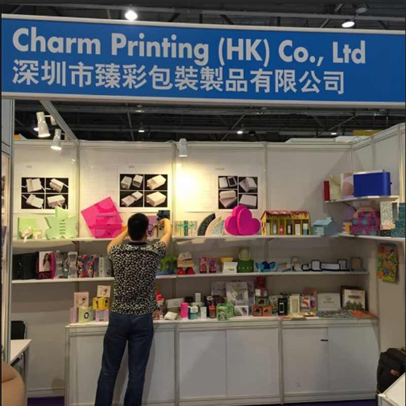 Charm Printing Co., Ltd partecipa alla HK Print Pack Fair